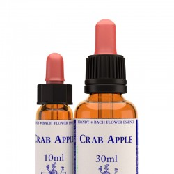 Crab apple: Manzano silvestre - Flor de Bach (30 ml.)
