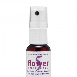 Spray con Flores de Bach - Remedio para emergencia