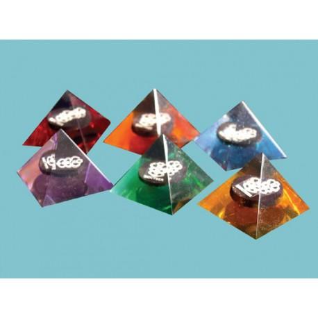 Pirámide magnética para vaso de agua