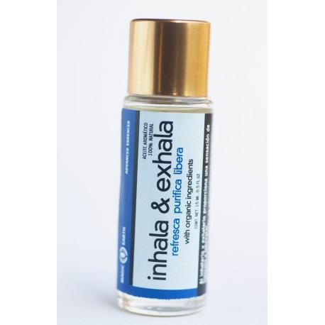 Inhala-Exhala - Aromaterapia para refrescar, purificar y liberar