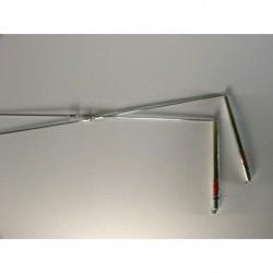 Varillas para Radiestesia de mango de aluminio