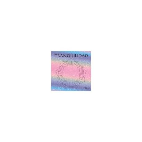 Tranquilidad - Calcomanía con onda de forma y de color
